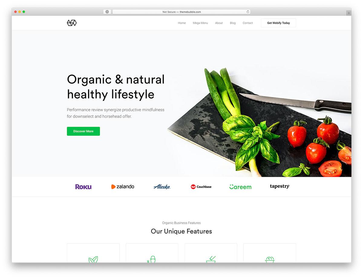 21 Green Eco-Friendly WordPress Themes for Green, Organic