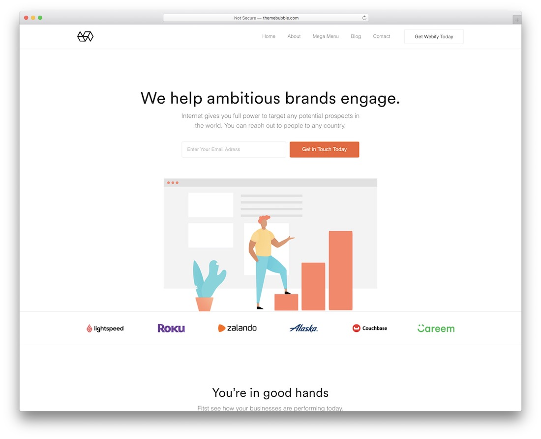 webify seo optimized wordpress theme