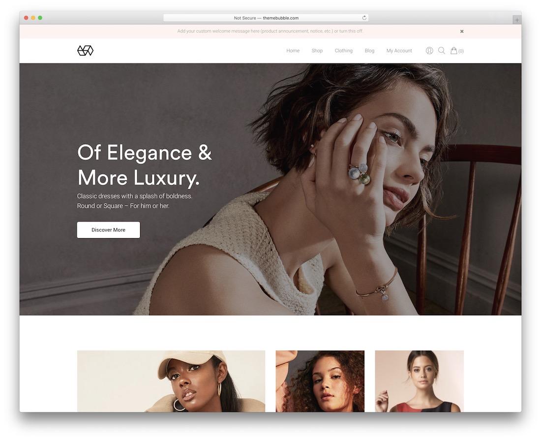 webify wordpress webshop theme