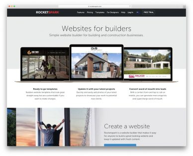 Website Builders For Construction Company