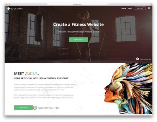 Website Builders For Gym