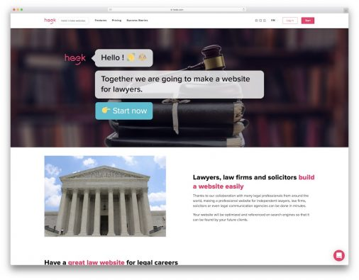 Website Builders For Lawyers