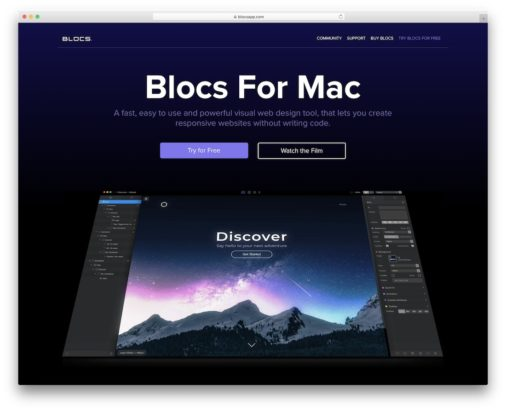 Website Builders For Mac