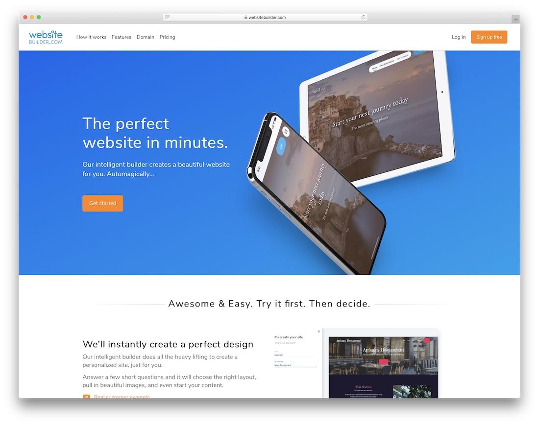 websitebuilder website builder for non-profit organizations