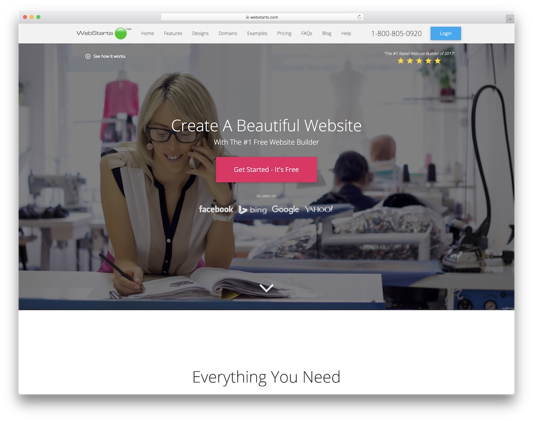 webstarts website builder for non-profit organizations