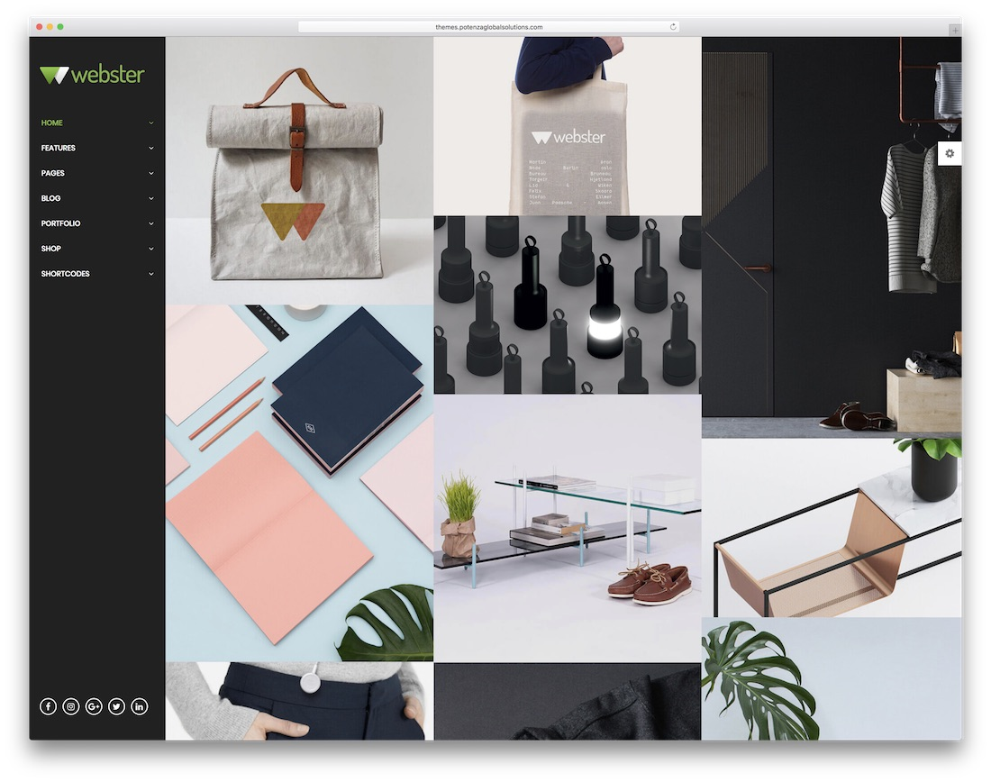 35 best portfolio website templates html wordpress 2018 colorlib