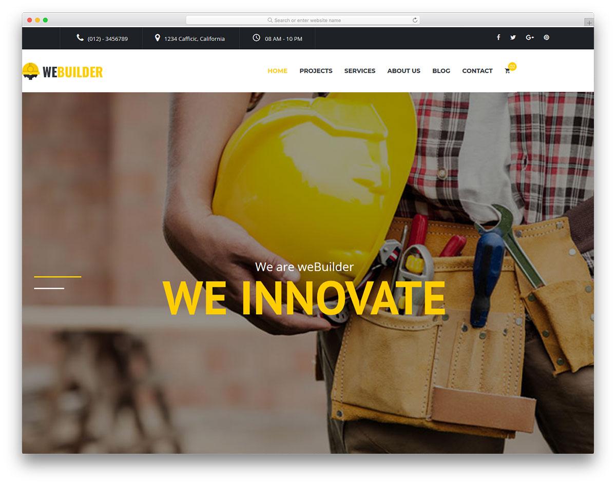 webuilder free template