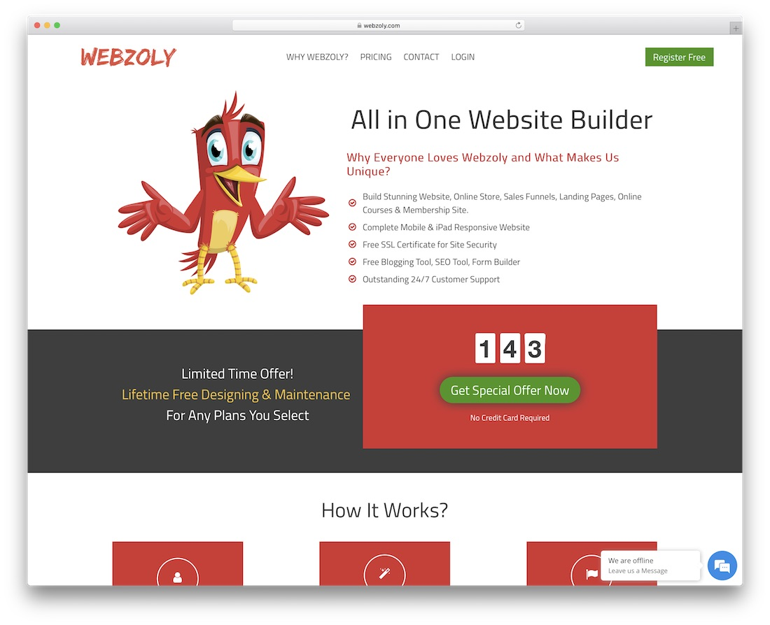 webzoly membership website builder