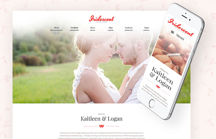 Top 22 Wedding & Dating Templates for a Valentine's Day