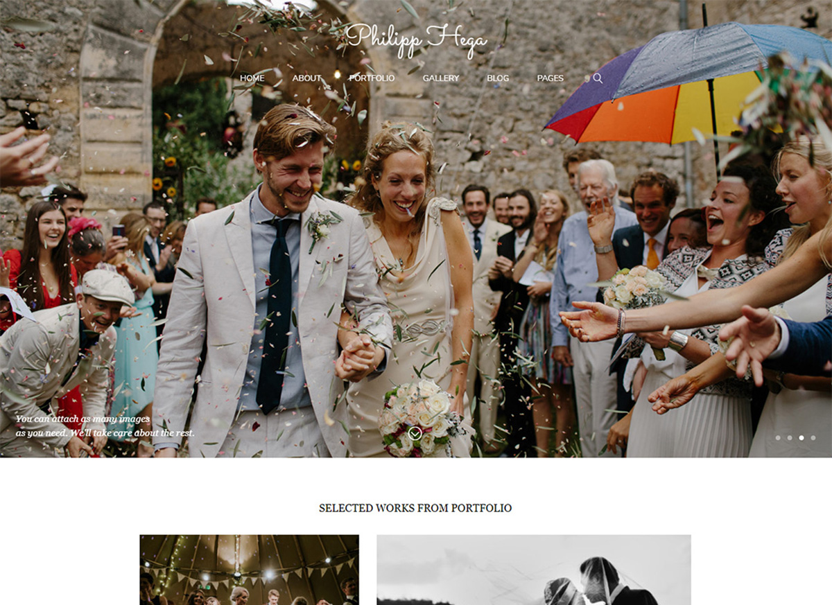 20 Best Wedding Photography Wordpress Themes 2021 Colorlib