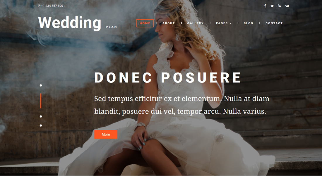 wedding-plan-dating-website-templates