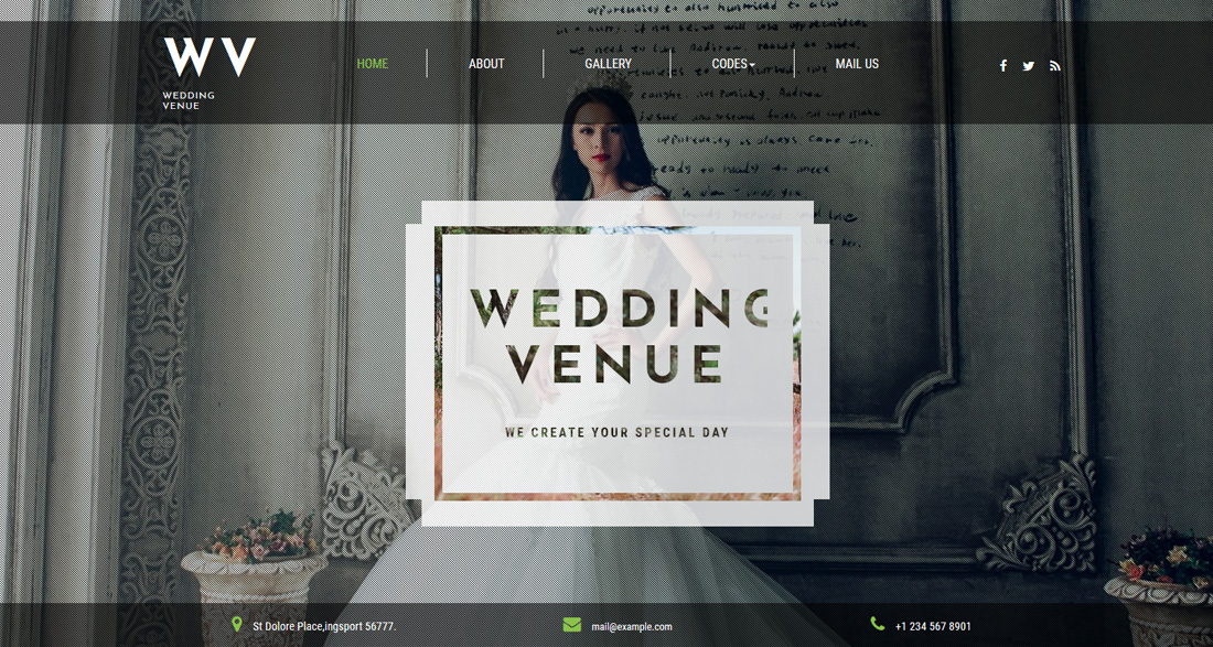 wedding-venue-dating-website-templates