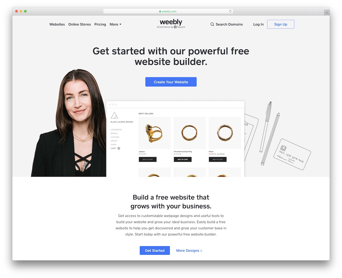 weebly church website builder