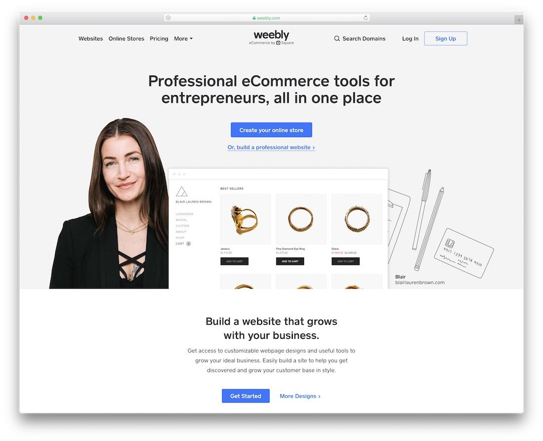 weebly community website builder