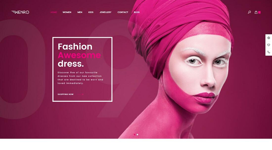wenro magento fashion theme