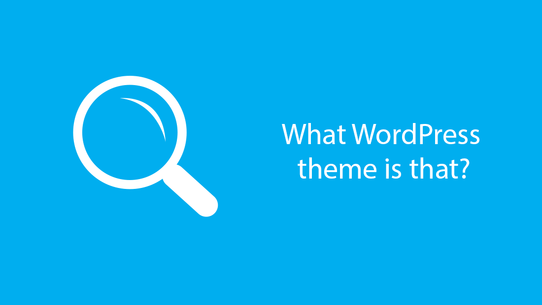 How To Find Out What Theme A WordPress Website Is Using?