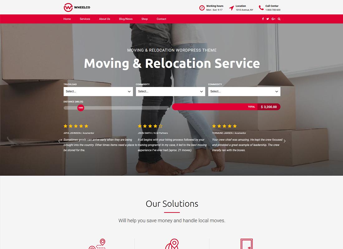Wheelco | Moving, Cargo, Transport & Logistics