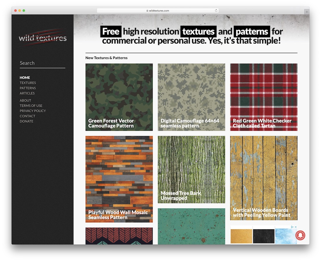 wild textures free textures resource