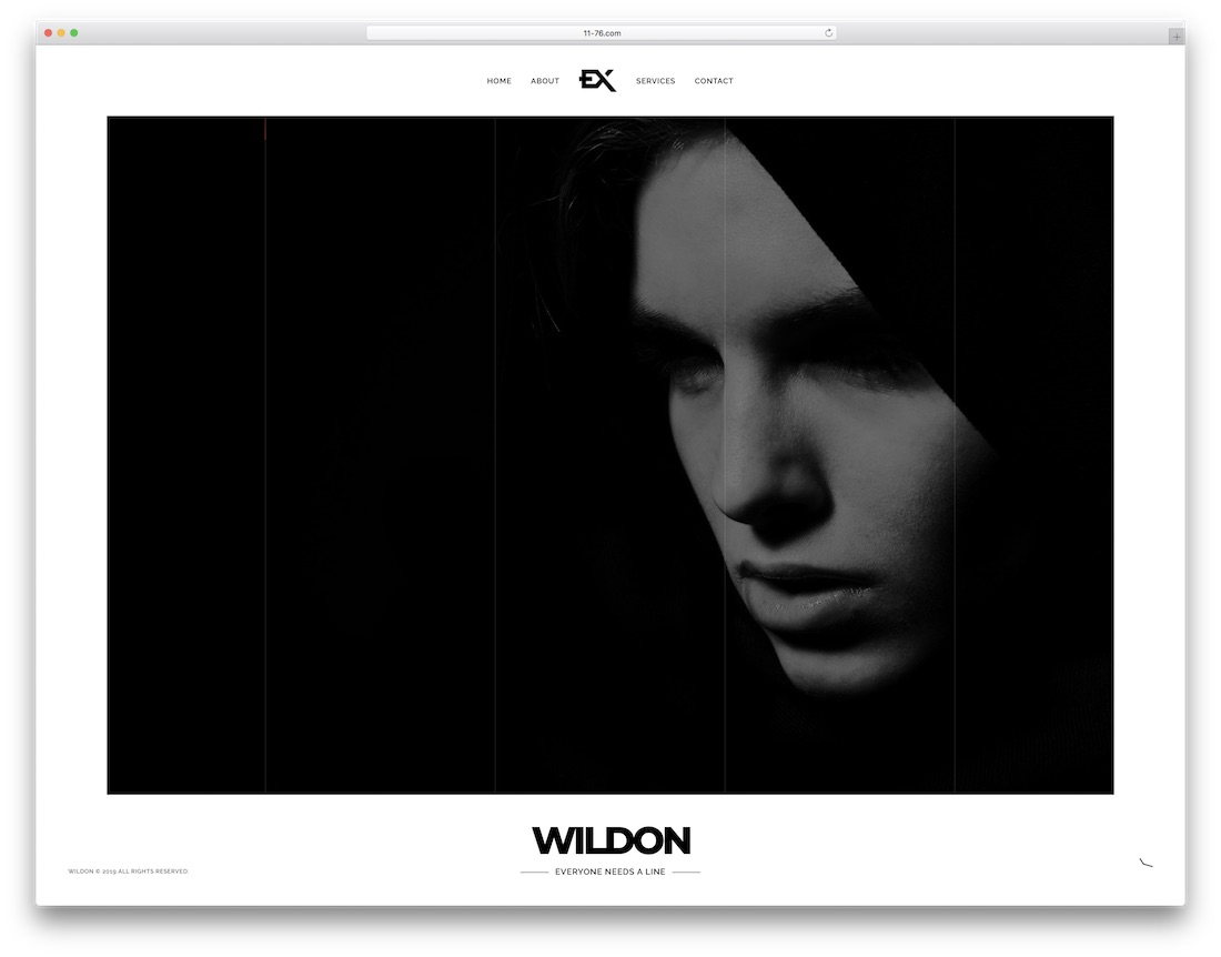 wildon coming soon website template
