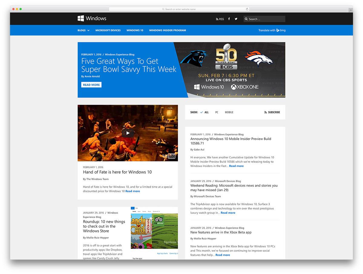 windows-developer-blog-using-wordpress
