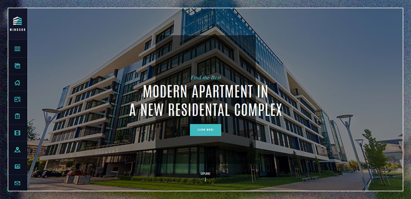 windsor apartment complex single property theme