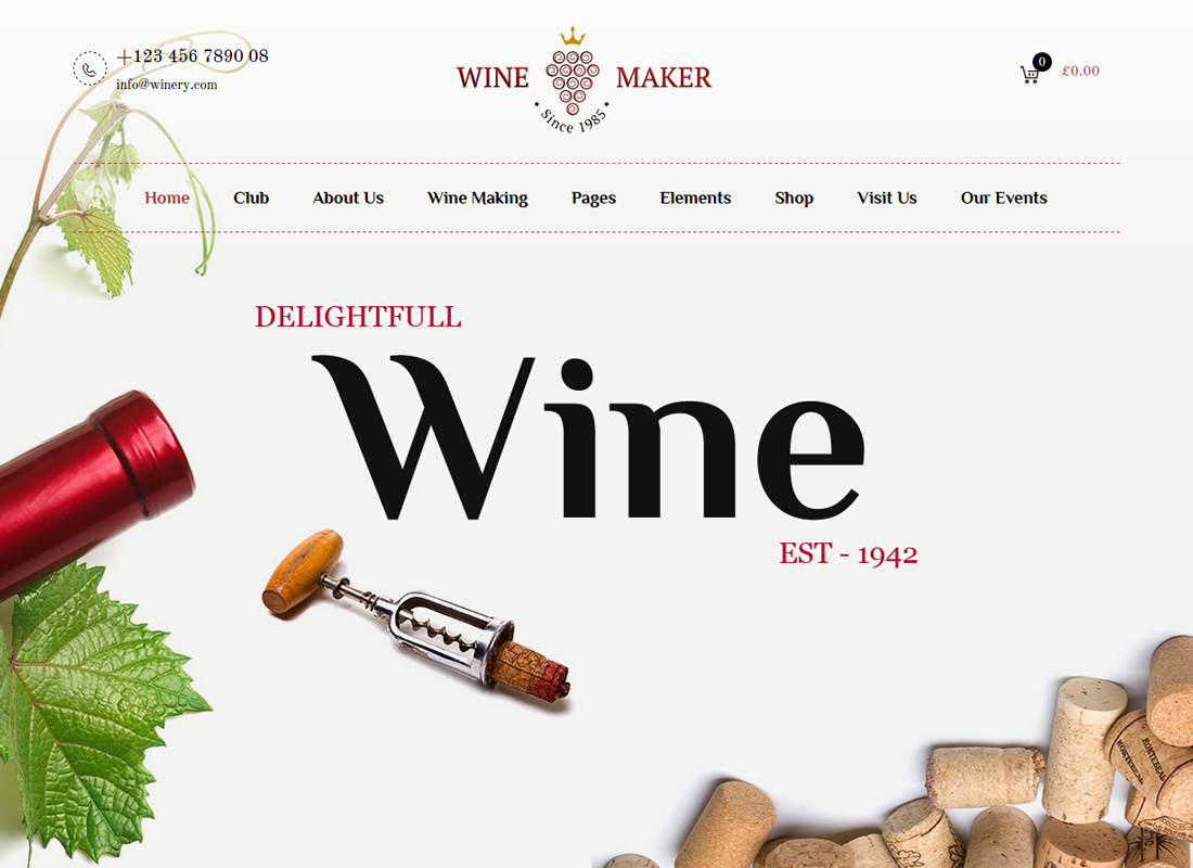 Wine Maker - Wine, Winery Theme
