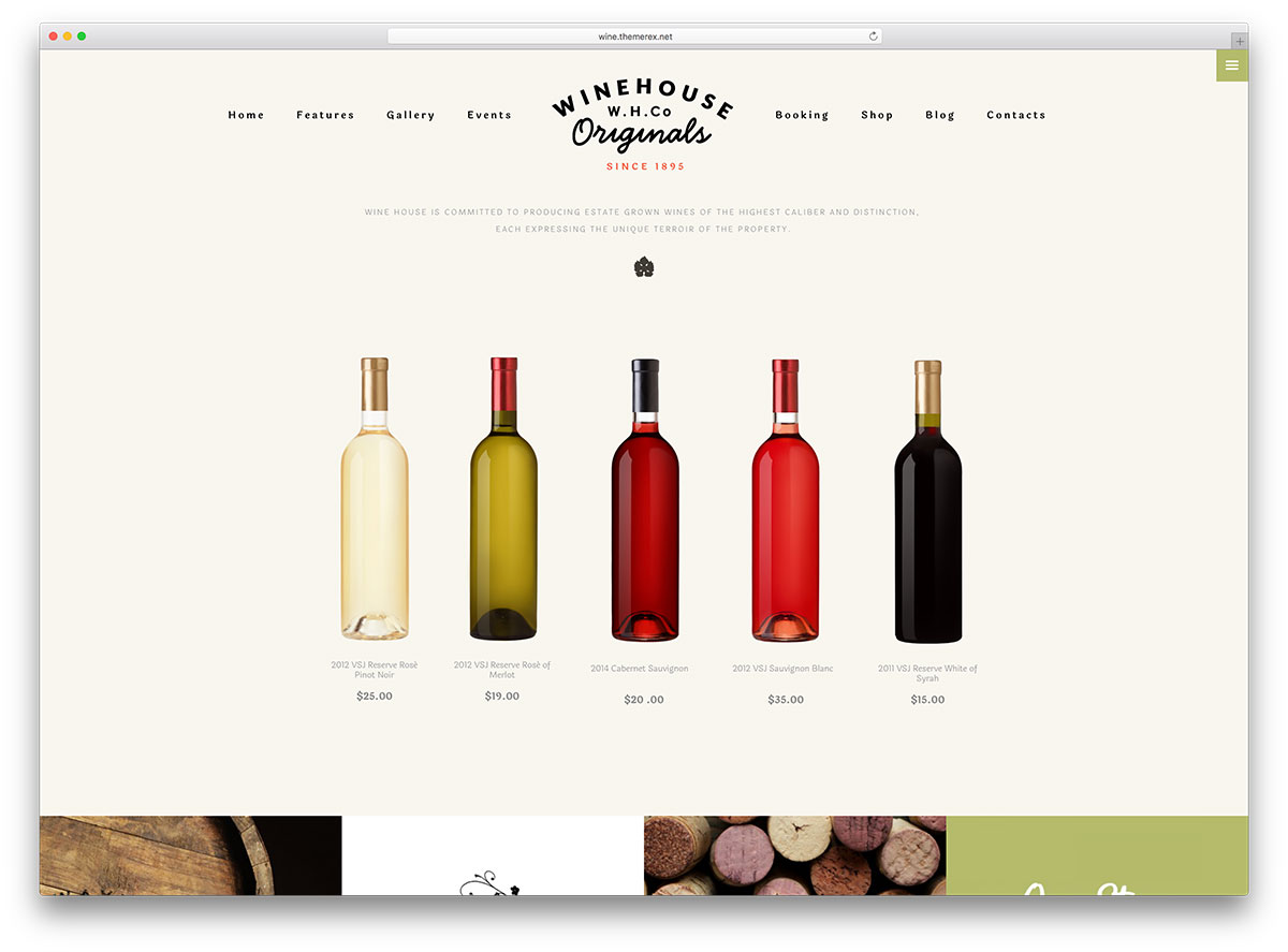 11 Elegant Wine House WordPress Themes 2018