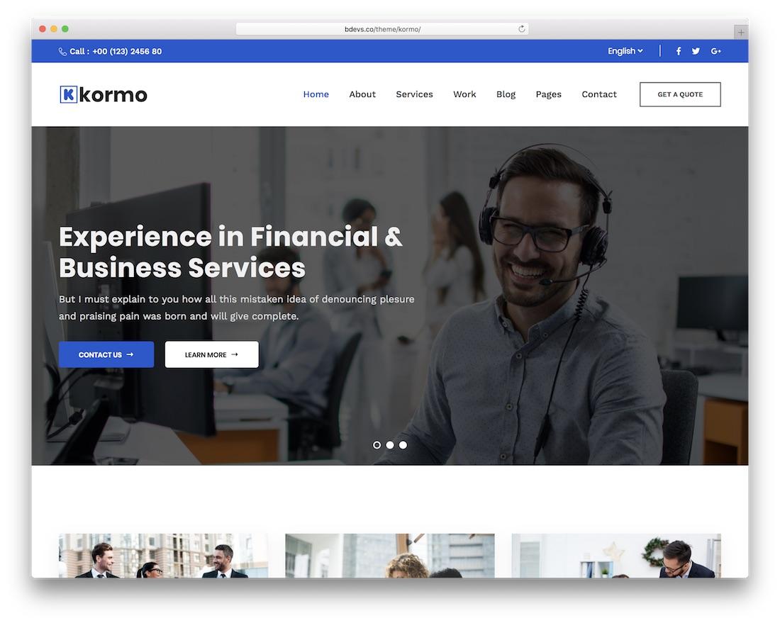 winnex wordpress insurance theme