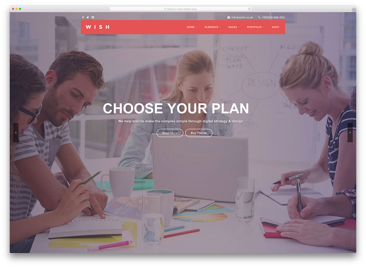 wish-fullscreen-hosting-website-template