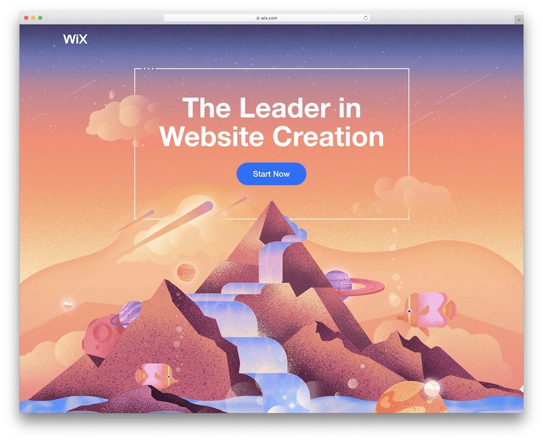 wix build portfolio website