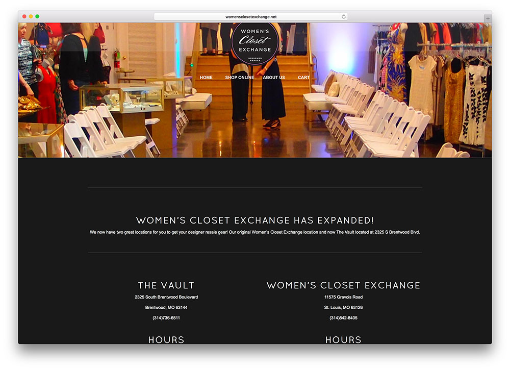 womensclosetexchange-local-store-wordpress-enfold-theme