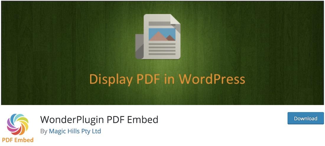 wonderplugin pdf embed