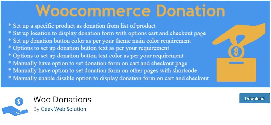 woo donations plugin