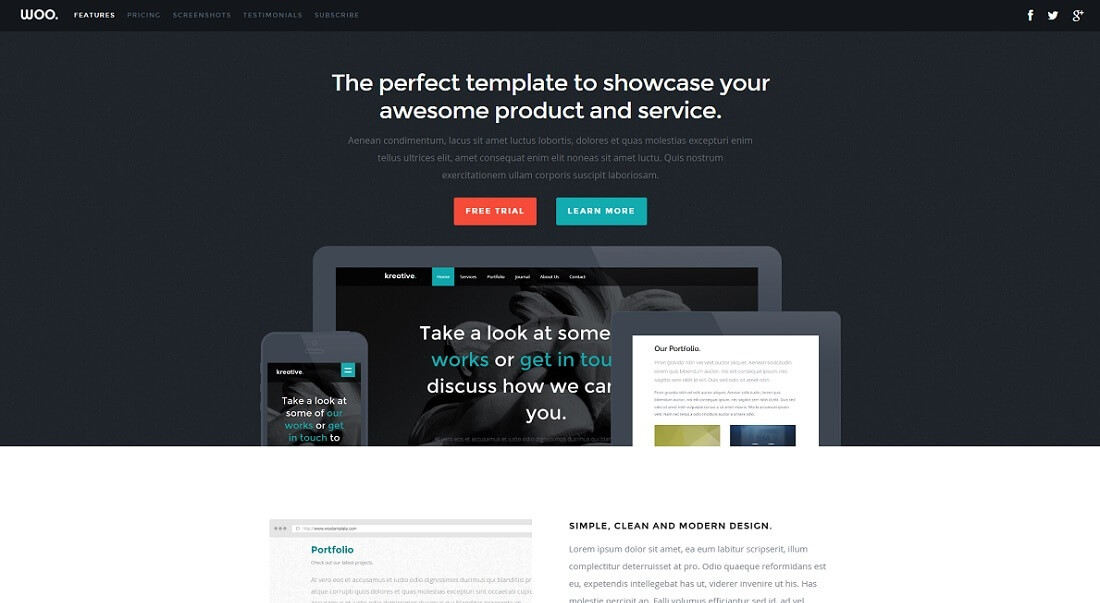 Responsive Free HTML Website Templates WordPress Today - Html site template