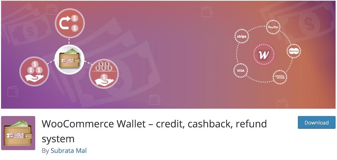 woo wallet woocommerce plugin