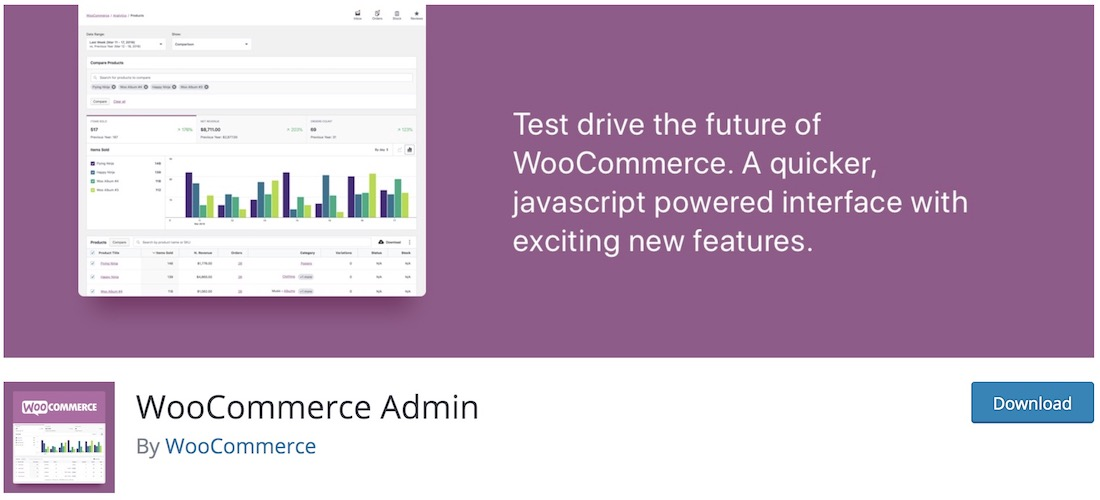 woocommerce admin extension