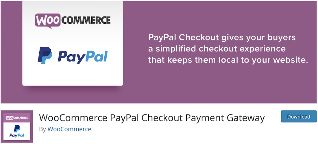woocommerce gateway paypal express checkout