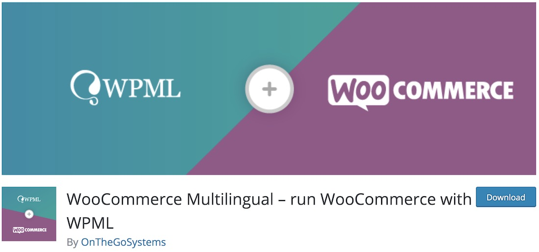 woocommerce multilingual plugin