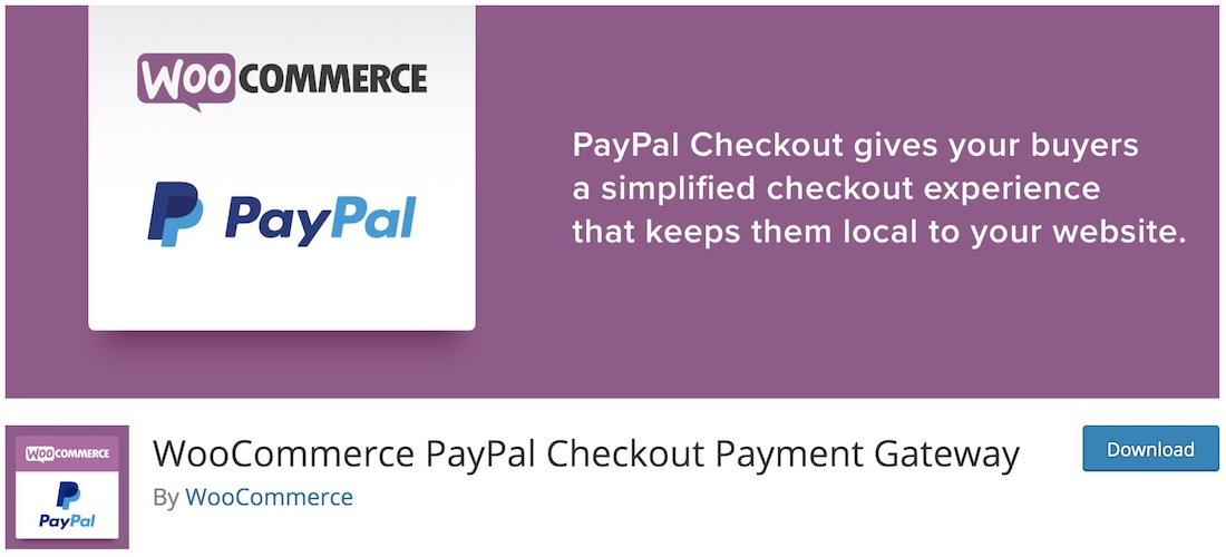 woocommerce paypal gateway