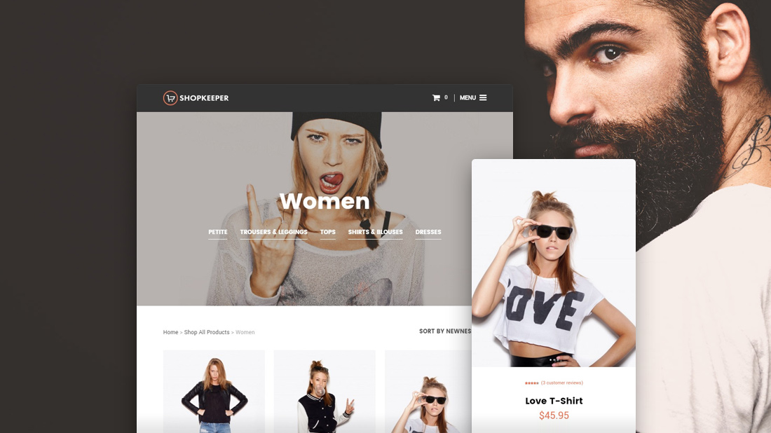 40 Responsive WordPress Shop Themes Based On WooCommerce 2017