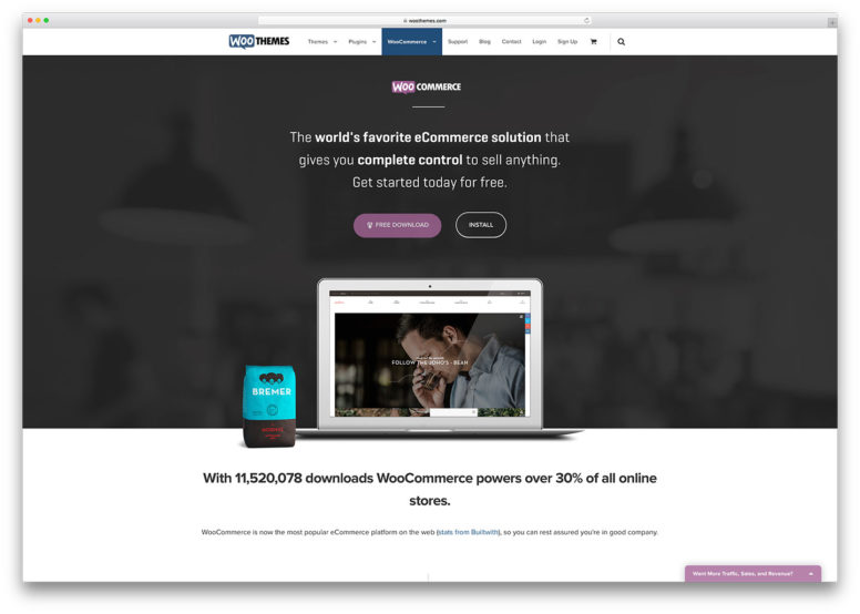30 Marvelous Websites Using WooCommerce ECommerce Plugin For WordPress 2016