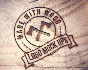 Wood Sign Mockup