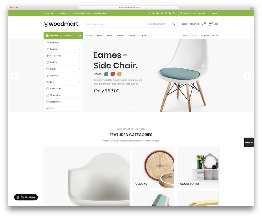 woodmarrt ecommerce wordpress theme