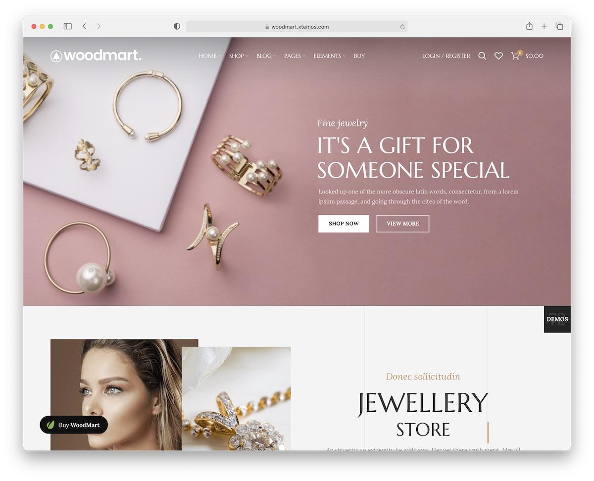 woodmart jewelry wordpress theme