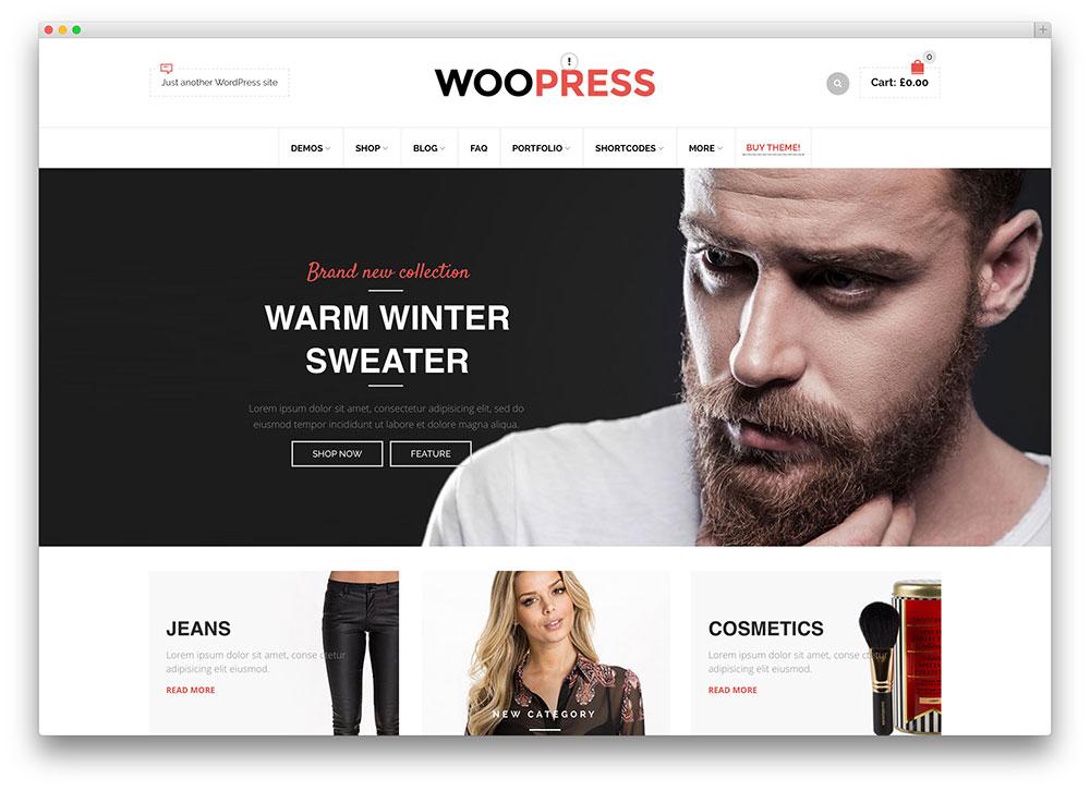 40 Awesome eCommerce WordPress Themes 2017 - Colorlib