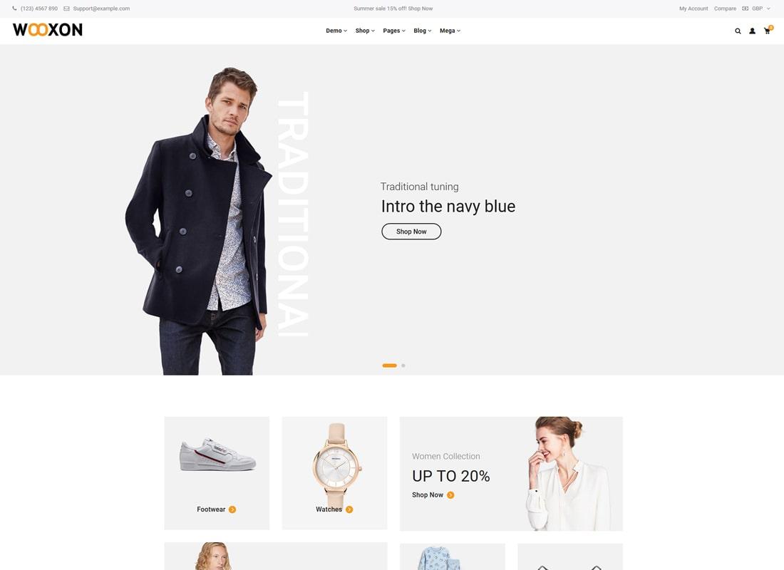 Wooxon | WooCommerce WordPress Theme