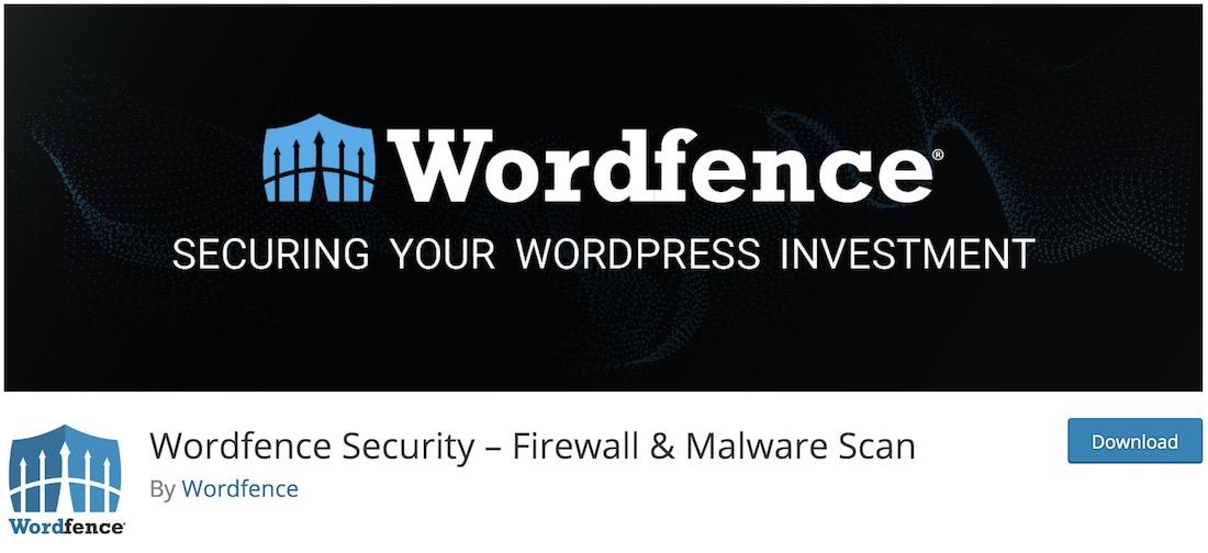 wordfence wordpress anti spam plugin