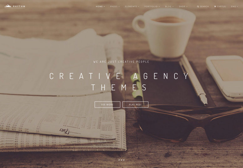 40+ Most Popular Creative Digital Agency WordPress Themes 2018