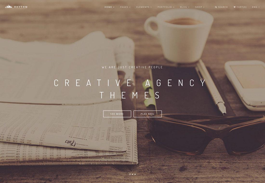 40+ Most Popular Creative Digital Agency WordPress Themes 2019