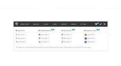WordPress Dropdown Menu Plugins